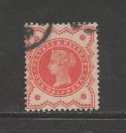 UNITED KINGDOM 1887 Used Stamp Victoria 1/2d Orange-red Nr. 86 - 1840-1901 (Victoria)