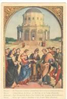 G1569 Milano - Pinacoteca Di Brera - Sposalizio Di Maria Vergine - Raffaello Sanzio - Old Mini Card / Non Viaggiata - Paintings
