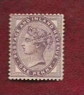 UK 1881 Mint Hinged Stamp(s)  Victoria 1d Violet Nr. 65 - 1840-1901 (Victoria)