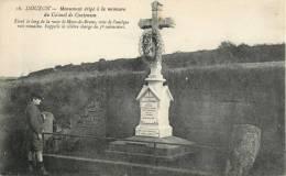 08 MOUZON - MONUMENT ERIGE A LA MEMOIRE DU COLONEL DE CONTENSON - France