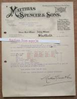 Albion Steel Works, Matthias Spencer & Sons, Arlen Street, Sheffield 1921 - Royaume-Uni