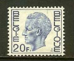BELGIUM 1971 MNH Stamp(s) Baudouin 20 Franc 1670 - Belgium
