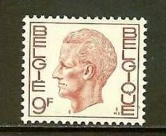 BELGIUM 1971 MNH Stamp(s) Baudouin 9 Franc 1639 - Belgium
