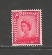 UK Isle Of Man1969 Mint Never Used Stamps QE II 4d Red Nr. 7 - Regionale Postdiensten