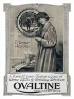 @@@ MAGNET - Ovaltine Warmer Than Furs 1923 - Publicitaires