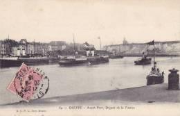 CPA - 76 - DIEPPE - Avant Port Départ De La Tamise - 64 - Dieppe