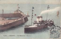 CPA - 76 - DIEPPE - Le Steamer Tamise - 87 - Bâteau Paquebot  Navire - Dieppe