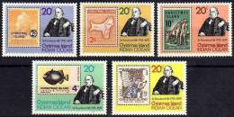 Rowland Hill 1979 Christmas Island #115/9 MNH ** Stamp On Stamp Map Fish - Rowland Hill