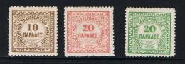 KRETA  BUREAU  ANGLAIS D´HERAKLION   1898/99 GEEN GOM - Crète