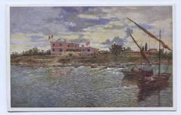 Croatia - SALVORE, Savudrija, Istra, Istria, Ospizio Marine, Seehospiz, Art Postcard - Croazia