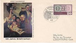D-Essen 1965. Philatelie. 125 Jahre Briefmarken (2.494) - [7] Federal Republic