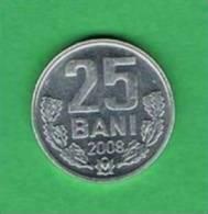 V032 Moldávia 25 Bani 2008 - Moldavia