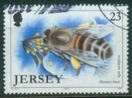 Jersey  2002  Insekten I - Honigbiene  (1 Gest. (used))  Mi: 1034 (0,90 EUR) - Jersey