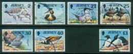 Jersey  1998  See- Und Watvögel  (7 Gest. (used))  Mi: 813-18, 820 (7,00 EUR) - Jersey