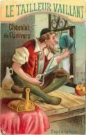LIEBIG : Réf  S 12-025 : Le Tailleur Vaillant ( Couture) (fer à Repasser) (ciseau) - Unclassified
