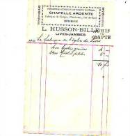 Lives (Jambes) - 1910 - L. Husson-Bille - Imprimerie - Printing & Stationeries