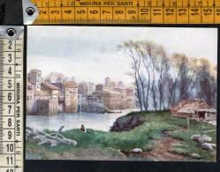 """D1947 Serie """" Roma Sparita """" -Prati Di Castello A S. S. Salvatore In Lauro , E. R. Franz / Art, Arte, Kunst - Other Monuments & Buildings"""