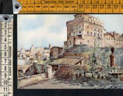 """D1951 Serie """" Roma Sparita """" : Torre Di Paolo III Sul Campidoglio  , Ettore R. Franz / Art, Arte, Kunst - Other Monuments & Buildings"""
