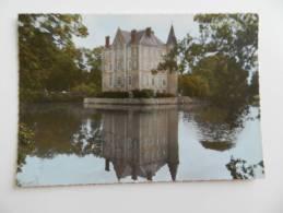 Cp   Martigné  Sur Mayenne  -  Château  De La  Motte - Husson  .   . - France