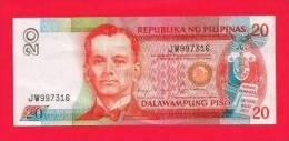 PHILIPPINES 1985, Banknote, Used VF,  20  Piso  Km 170 - Filippijnen