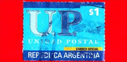 ARGENTINA - USATO - 2001 - U P - Unione Postale - $ 1 - Argentina