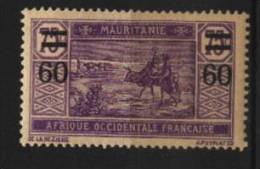 Mauritanie   N° 36  Neuf  *  Luxe   Cote Y&T   1,00  €uro  Au Quart De Cote