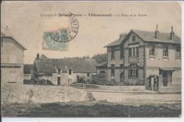 VILLEMAREUIL - La Place Et La Mairie - Francia