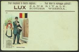 """Facteur Belge"",  A Postman Of The World (number 25)  ""Belgium"",  C1907. - Postal Services"