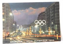LES GRANDS BOULEVARDS ET BELLEDONNE AU CREPUSCULE JEUX OLYMPIQUES 1968 - Grenoble