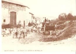 Saint-Mard (Virton)- Le Haut Du Chemin Morelle- Chèvres- Tombereau- Reproduction De L'ADEPS (voir Verso) - Virton