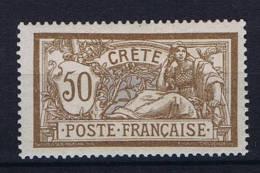 Crete:  Yv Nr 12 MH/* - Crete (1902-1903)