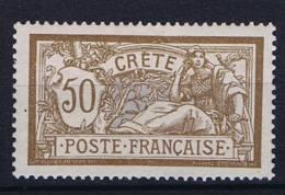 Crete:  Yv Nr 12 MH/* - Unused Stamps