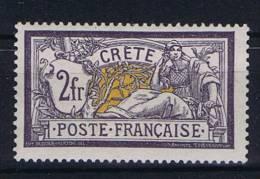 Crete:  Yv Nr 14 MH/* - Unused Stamps