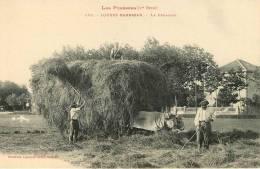 Agriculture : Loures Barbazan, La Fenaison - Agriculture