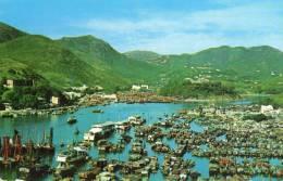 HONG KONG Vue Du Village De Pecheurs D'Aberdeen - Chine (Hong Kong)