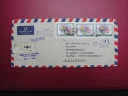 == India, 1979  R-cv. Orchids , Bug - Briefe U. Dokumente