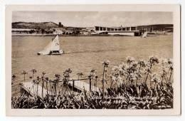 AMERICA BRAZIL BELO HORIZONTE THE RIVER AND BOAT Nr. 189 OLD POSTCARD 1960. - Belo Horizonte