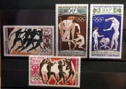 Olymp.Sommerspiele 1964 Postfrisch. - Gabun (1960-...)