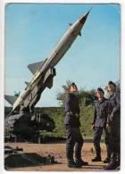 MILITARIA EQUIPMENT THE NATIONAL ARMY OF JUGOSLAVIA ROCKET WEAPONS JAMMED BIG POSTCARD - Equipment