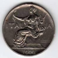 Italie : Buono Da L.1 (1 Lira) 1922 - 1900-1946 : Victor Emmanuel III & Umberto II