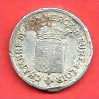 CHAMBRE DE COMMERCE D'EURE & LOIR , 1922 , 10 Cent. - Notgeld