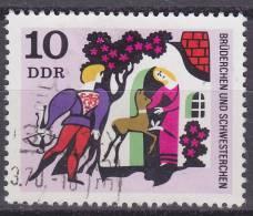 DDR Mi.1546 Plattenfehler F2 Gestempeld - [6] Oost-Duitsland