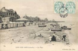 LION-SUR-MER LA PLAGE ANIMEE 14 CALVADOS - France