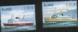 Aland 2011 Navi Ships (Ferry M/S Apollo-M/S Alandia) 2v Complete Set ** MNH - Aland