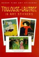 Stickers - 16 Art Stickers Toulousse-Lautrec - Otros