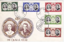 1295. Monaco, 1956, Prince Rainier Marries Grace Kelly, FDC