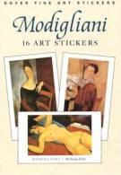 Stickers - 16 Art Stickers Modigliani - Otros
