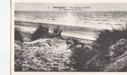 BR20152 Middelkerke Les Dunes Et La Mer      2  Scans - Middelkerke