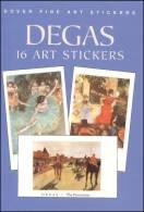 Stickers - 16 Art Stickers Degas - Otros