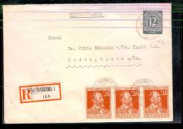 3.4.48 BESSERE MiF. R. Brief Mannheim/Ludwigshafen. MK - Bizone